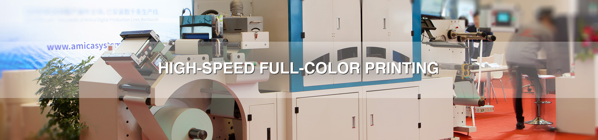 High-speed Full-color Printing